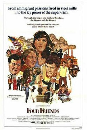 Four Friends (1981 film) - Original poster