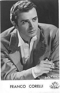 Franco Corelli Italian opera singer