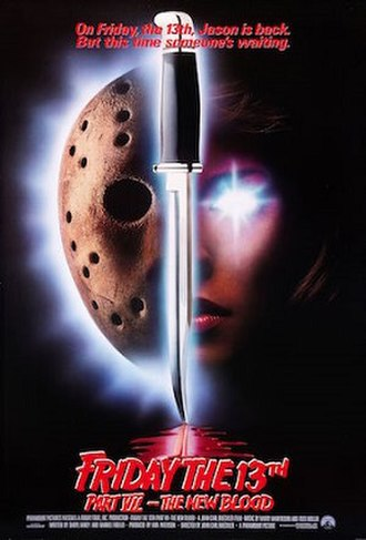 Friday the 13th Part VII: The New Blood - Theatrical release poster