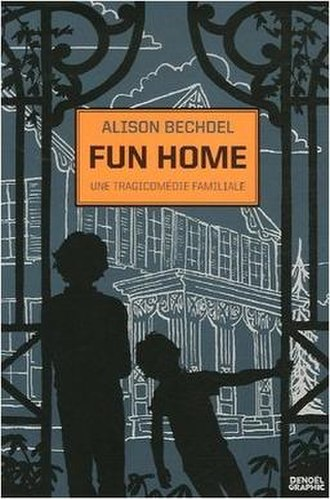 Fun Home - The French edition of Fun Home, published by Éditions Denoël