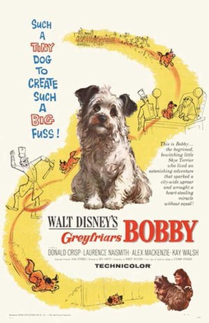 Greyfriars Bobby (film) - Original theatrical poster
