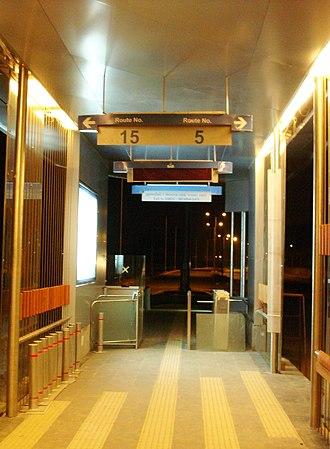 Ahmedabad Bus Rapid Transit System - Image: GMD Cstation 1