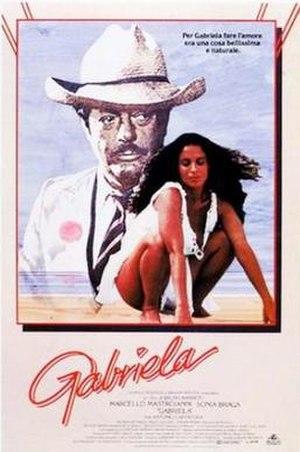 Gabriela (1983 film) - Film poster