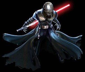Starkiller - In the dark side ending of The Force Unleashed, Starkiller is made the Emperor's apprentice. This redesign was reused in the Ultimate Sith Edition of the game. After becoming a Sith Lord, his new name became Darth Starkiller. He mastered the Dark Side of the Force and achieved an ultimate level of power.