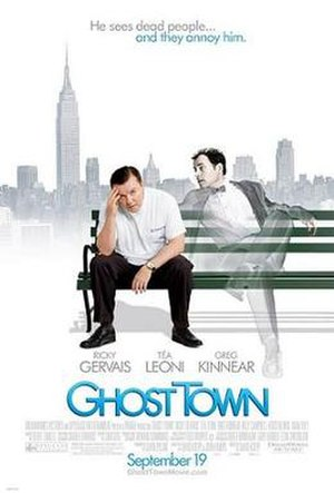 Ghost Town (2008 film) - Theatrical release poster