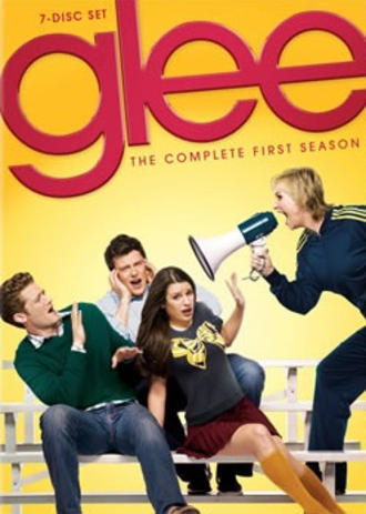 Glee (season 1) - Promotional poster and home media cover art