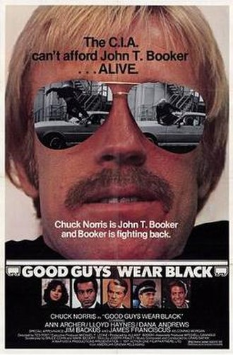 Good Guys Wear Black - Theatrical release poster