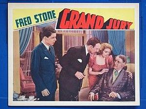 Grand Jury (1936 film) - Lobby card for the film