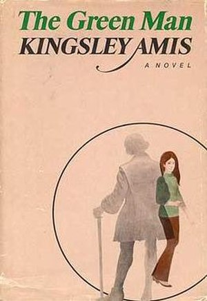 The Green Man (Amis novel) - First US edition  (Harcourt, Brace & World)