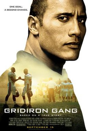 Gridiron Gang - Theatrical release poster