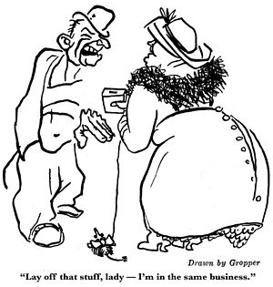 William Gropper - Cartoon from the June 1920 issue of The Liberator.