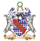 Haberdashers' Aske's Boys' School (coat of arms).png