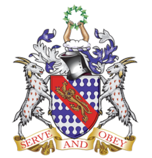 West Monmouth School - Image: Haberdashers' Aske's Boys' School (coat of arms)