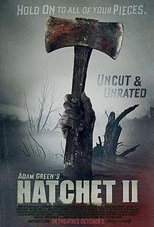 <i>Hatchet II</i> 2010 film by Adam Green