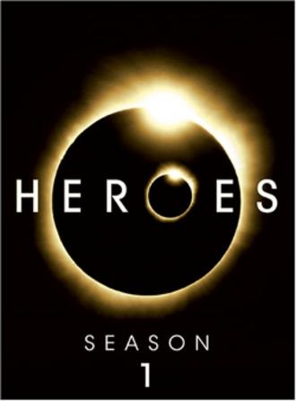 Heroes (season 1) - DVD cover