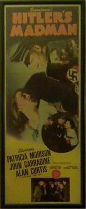 Hitler's Madman - Hitler's Madman insert poster.
