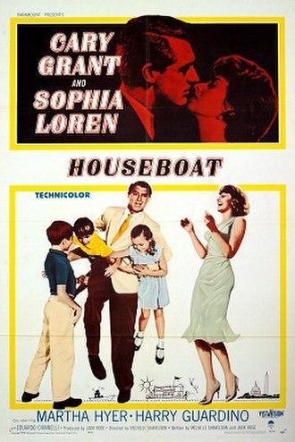 Houseboat (film) - Film poster for Houseboat