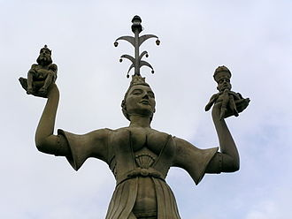 Council of Constance - Imperia, a 1993-erected statue commemorating the council