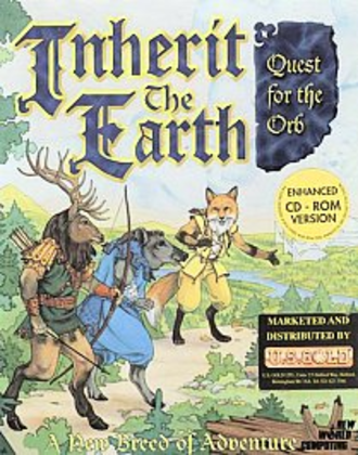 Inherit the Earth - CD Cover art