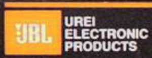 Universal Audio - JBL-UREI co-branding (1985 to 1987)