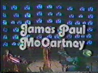 James Paul McCartney (TV special) - The opening title used for the special