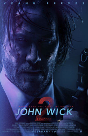 John Wick: Chapter 2 - Theatrical release poster