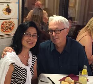 Jon Peterson (artist) - Jon and Tanarat Peterson, Venice, 2015
