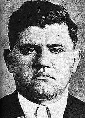 Joseph Lanza - NYPD mugshot of Joseph Lanza