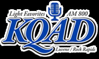 KQAD - Image: KQAD AM800 logo