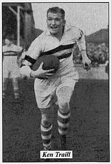 Ken Traill English rugby league footballer, and coach