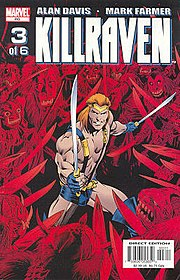 Killraven vol. 2, #3 (Feb. 2003). Cover art by Alan Davis.