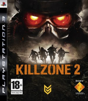 Killzone 2 - European box art