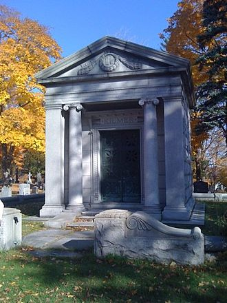 Willis Sharpe Kilmer - Kilmer mausoleum in 2009