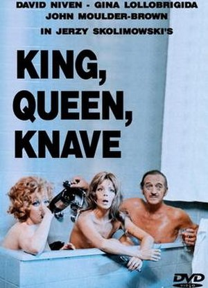 King, Queen, Knave (film) - DVD cover