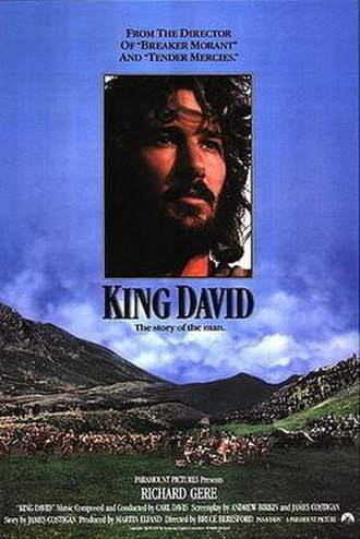 King David (film) - Original film poster