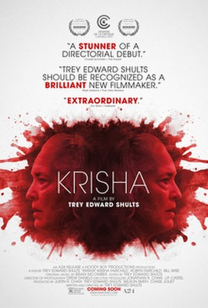 Krisha - Theatrical release poster