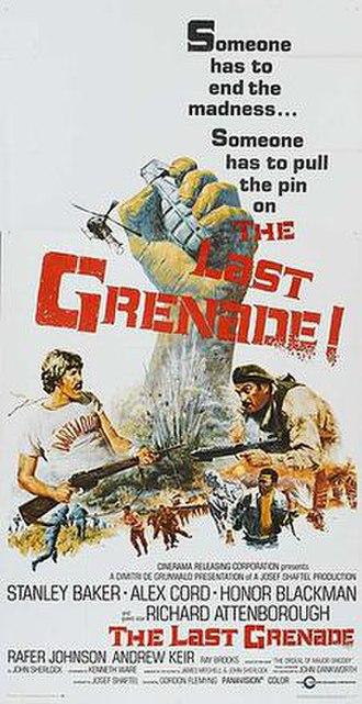 The Last Grenade - Original film poster