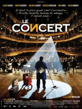 Le Concert - Theatrical release poster