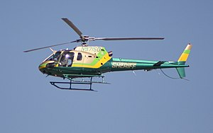 Los Angeles County Sheriff's Department - LASD's Eurocopter AS350.