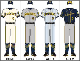 low priced a3d08 eee69 Milwaukee Brewers - Wikipedia