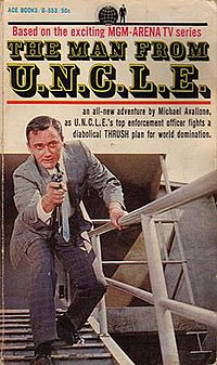 The first Man from U.N.C.L.E. novel, by Michae...
