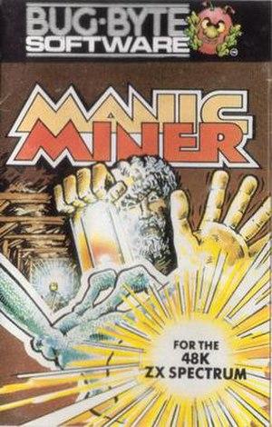 Manic Miner - original Bug-byte cassette inlay