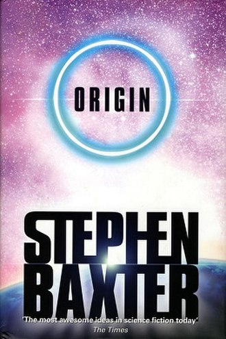 Origin (Baxter novel) - Cover to the first edition