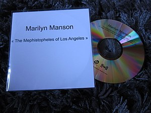 The Mephistopheles of Los Angeles - Image: Marilyn Manson The Mephistopheles of Los Angeles