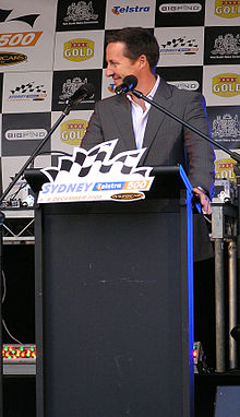 Matt White 2009 Sydney 500 launch.jpg