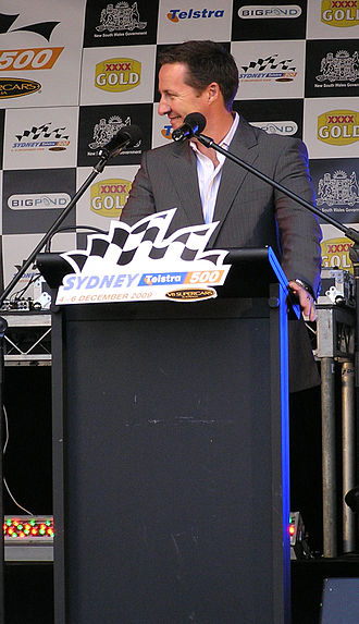 Matthew White (journalist) - White at the launch of the Sydney 500 in 2009.