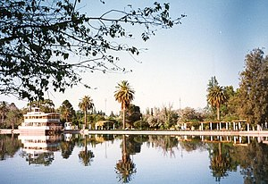 General San Martín Park - Regata Lake