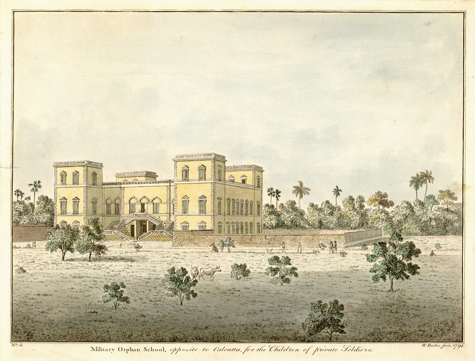 Military orphan school calcutta1794