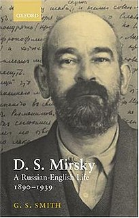D. S. Mirsky Russian writer