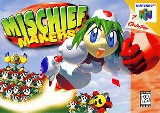 <i>Mischief Makers</i> 1997 platform game